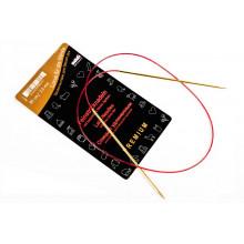 Спицы для вязания ADDI, 80cm - 2,5mm (удлиненный кончик)