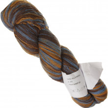 Пряжа Aade Long Kauni, Artistic Brown Blue 800