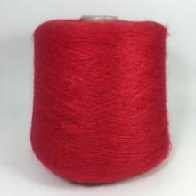 Кид мохер - Нейлон LINEA PIU Spa, Camelot (красный)