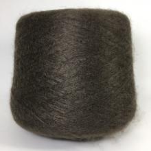 Кид мохер - Нейлон LINEA PIU Spa, Camelot (коричневый)