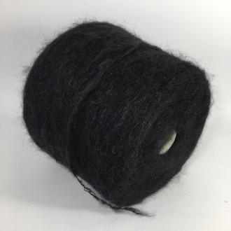 Мохер-Альпака Pecci Filati, TRAPPER (чорний)