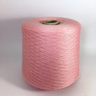 Меринос 100% Biella Yarn, Victoria (бл.розовий)